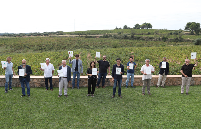 THE PRESIDENTS OF THE 11 CATALAN DOES ANALYZE THE WINE SECTOR IN CATALONIA